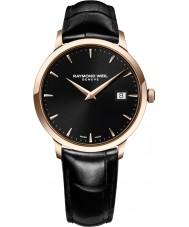 Raymond Weil 5488-PC5-20001 Reloj para hombre de la correa de cuero negro tocata