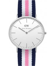 Daniel Wellington DW00100050 Damas clásico de Southampton reloj de plata de 36 mm