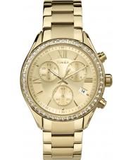 Timex TW2P66900 reloj cronógrafo de oro señoras de Miami