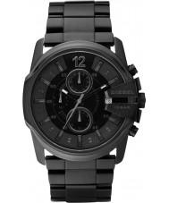 Diesel DZ4180 reloj cronógrafo para hombre jefe principal negro
