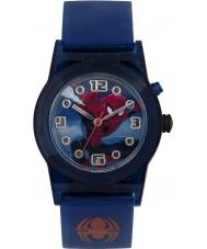 Disney SPD3425 Chicos maravilla reloj del hombre araña parpadeo definitiva con correa de silicona azul