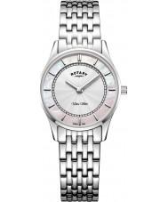 Rotary LB08300-07 Reloj ultra delgado para mujer