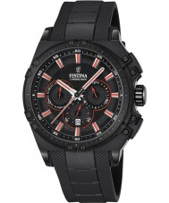 Festina F16971-4 Para hombre en bicicleta crono de caucho negro reloj cronógrafo