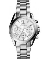 Michael Kors MK6174 Las señoras reloj cronógrafo de plata mini-Bradshaw