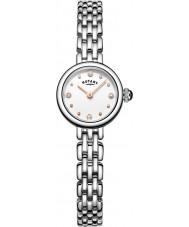 Rotary LB05052-02 reloj de pulsera de acero plata Relojes de cóctel