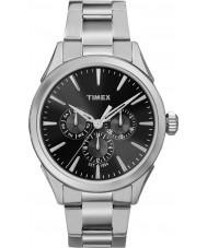 Timex TW2P97000 Mens Chesapeake reloj de plata brazalete de acero