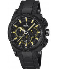 Festina F16971-3 Para hombre en bicicleta crono de caucho negro reloj cronógrafo