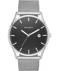 Skagen SKW6284 Para hombre de plata Holst reloj pulsera de malla de acero