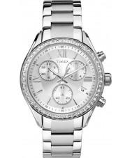 Timex TW2P66800 reloj de pulsera de acero de plata de las señoras de la ciudad