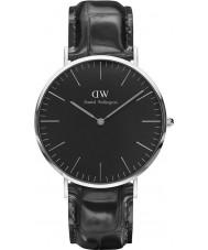 Daniel Wellington DW00100135 reloj de 40 mm de lectura negro clásico