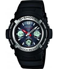 Casio AWG-M100-1AER de radio para hombre g-choque controlado reloj deportivo con energía solar