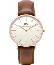 Daniel Wellington DW00100006 Mens varones st clásico reloj de oro rosa de 40 mm