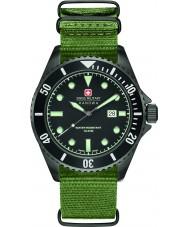 Swiss Military 6-4279-13-007 Para hombre león marino de nylon verde reloj de la correa