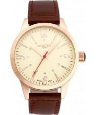 Minster 1949 MN01CRRG10 Mens crofton reloj de la correa de cuero marrón