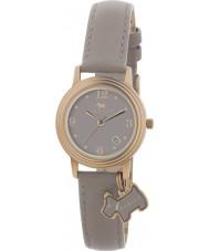 Radley RY2130 reloj de la correa de cuero de las señoras marsupial encanto