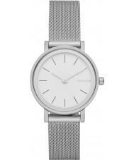 Skagen SKW2441 Damas Hald reloj pulsera de malla de acero de plata