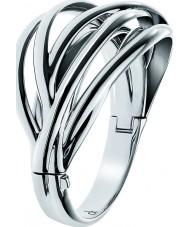 Calvin Klein KJ1RMD00010S Señoras crujiente brazalete de acero inoxidable