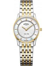 Rotary LB08301-41 Reloj ultra delgado para mujer
