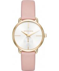 Michael Kors MK2659 Señoras portia cuero de color rosa correa de reloj