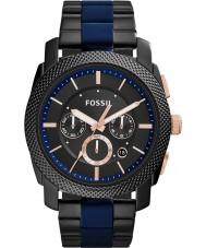 Fossil FS5164 Máquina para hombre reloj cronógrafo de dos tonos