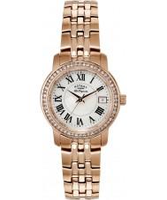 Rotary LB90093-41 Damas les originales chapado en oro rosa reloj pulsera