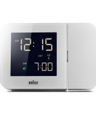 Braun BNC015WH-RC reloj digital en blanco