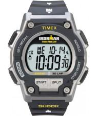 Timex T5K195 Para hombre de choque ironman gris resisten reloj deportivo de 30 vueltas