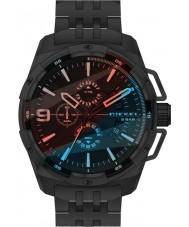 Diesel DZ4395 Para hombre reloj cronógrafo de acero negro de peso pesado