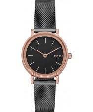 Skagen SKW2492 Damas Hald reloj de malla de acero de plata