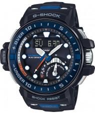 Casio GWN-Q1000-1AER de radio para hombre G-SHOCK reloj de la correa de resina negro controlado