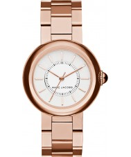 Marc Jacobs MJ3466 Courtney damas chapado en oro rosa reloj pulsera