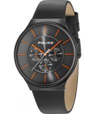 Police 15044JSB-13A Reloj de cuero para hombre