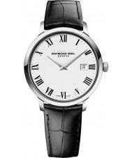 Raymond Weil 5488-STC-00300 Reloj para hombre de la correa de cuero negro tocata