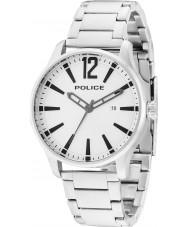 Police 14764JS-04M Para hombre de Dallas de acero de plata reloj pulsera