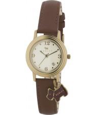 Radley RY2140 reloj de la correa de cuero marrón de las señoras encanto
