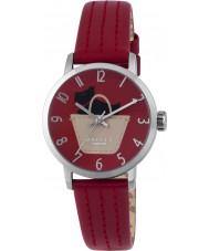 Radley RY2287 Damas rubí reloj correa de cuero