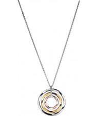 Calvin Klein KJ0KDP300100 Damas exclusiva tres de color collar colgante