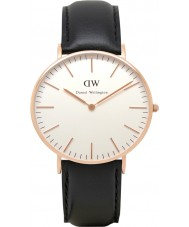 Daniel Wellington DW00100036 Damas clásico 36mm Sheffield reloj de oro rosa
