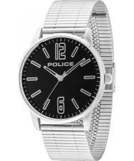 Police 14765JS-02M Mens Esquire reloj de pulsera de acero de plata