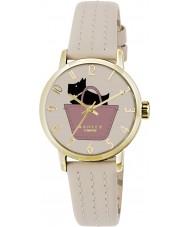 Radley RY2288 reloj de la correa de cuero de las señoras de yeso
