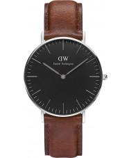 Daniel Wellington DW00100142 Reloj clásico varones de 36 mm negro st