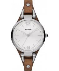 Fossil ES3060 Las señoras reloj marrón Georgia