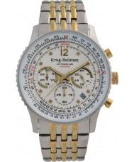 Krug-Baumen 410102DS Reloj de pulsera de hombre de avión de aire