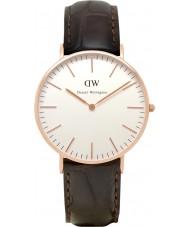 Daniel Wellington DW00100038 Señoras 36mm york rosa clásica del reloj de oro