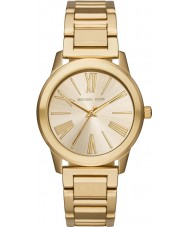 Michael Kors MK3490 Las señoras reloj pulsera de acero de oro Hartman