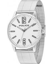 Police 14765JS-04M Mens Esquire reloj de pulsera de acero de plata