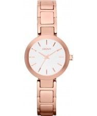 DKNY NY2400 Damas Stanhope rosa reloj pulsera de acero de oro