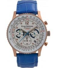 Krug-Baumen 410703DS Reloj de pulsera de hombre de avión de aire