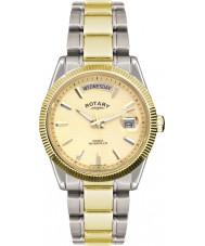 Rotary GB02661-20 reloj de oro de plata para hombre de los relojes La Habana