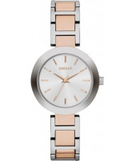 DKNY NY2402 Damas Stanhope dos tonos reloj pulsera de acero